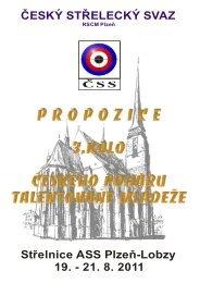 Propozice - Český střelecký svaz