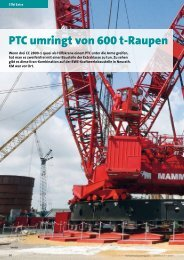 PTC umringt von 600 t-Raupen - Kranmagazin.de