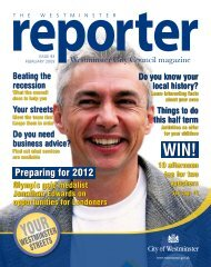 Reporter - Westminster City Council