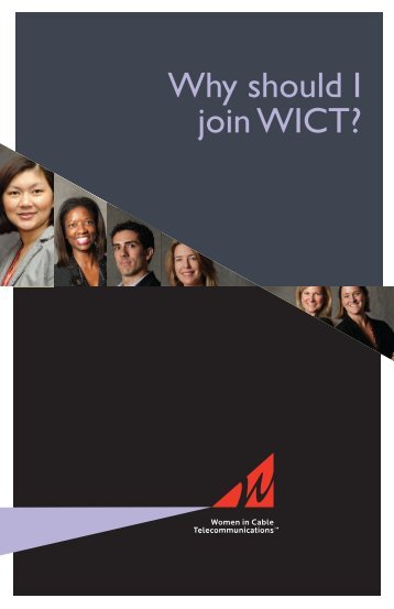 Download the WICT membership brochure.