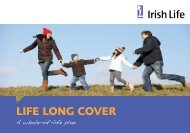 LIFE LONG COVER - Irish Life
