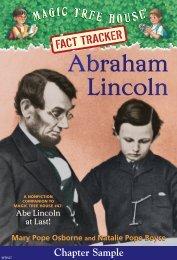 Abraham Lincoln - Magic Tree House