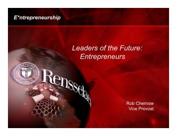 Leaders of the Future: Entrepreneurs p