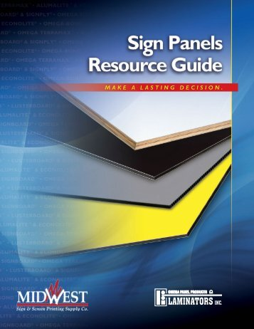 LAM-Resource Guide 2012.indd - Midwest Sign & Screen Printing ...