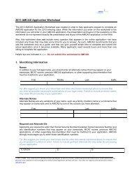 AMCAS® Application Grade Conversion Guide