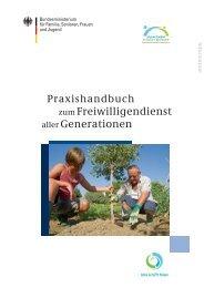 Praxishandbuch zum Freiwilligendienst aller ... - Nette Kieler
