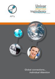 API Brochure - Univar Colour