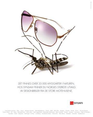 det finnes over 33 000 myggarter i naturen. hos ... - Gullblyanten