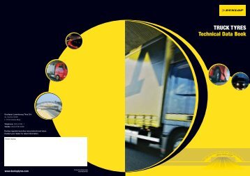 TRUCK TYRES Technical Data Book - Fleet first