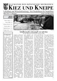 März - Kiez und Kneipe Neukölln