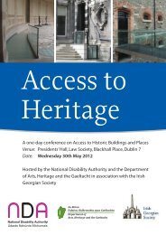 Access to Heritage - Department of Arts, Heritage and the Gaeltacht