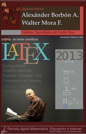 Edición de textos científicos con LaTeX - TEC Digital - Tecnológico ...