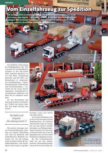 Vom Einzelfahrzeug zur Spedition - Kranmagazin.de