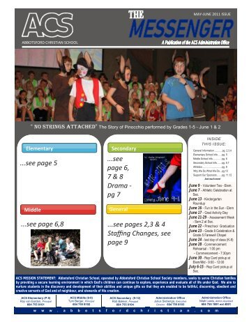 Newsletter 6 page working file 2011.pub - Abbotsford Christian School