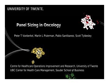Panel Sizing in Oncology