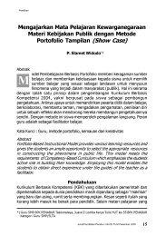 Hal.15-28 Mengajarkan Mata Pelajaran ... - BPK Penabur
