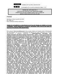 Termo de Aditamento PLR - Sindicato dos Bancários do Maranhão