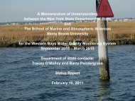 Western Bays presentation PDF - MySBfiles - Stony Brook University