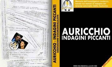 AURICCHIO - INDAGINI PICCANTI - Giulemanidallajuve
