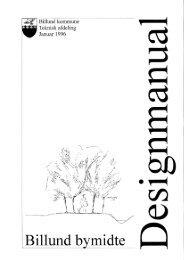 Designmanual for Billund bymidte - Billund Kommune