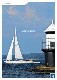 Båtförsäkring - Länsförsäkringar