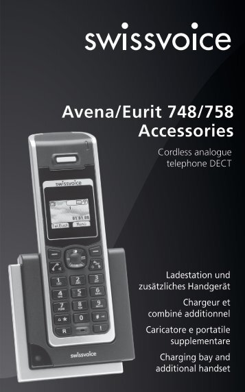 Avena/Eurit 748/758 Accessories - IVS GmbH