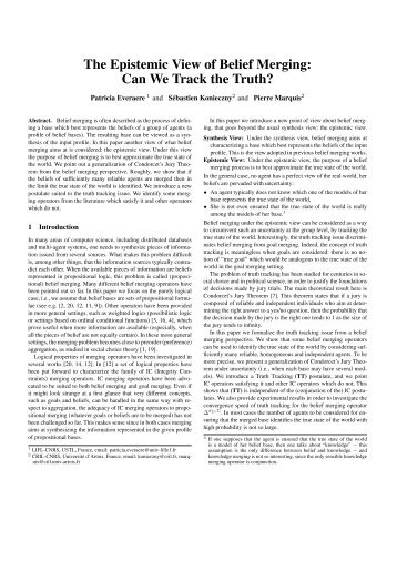 Paper - Individual and Collective Reasoning
