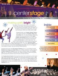 Winter - Sandler Center for the Performing Arts
