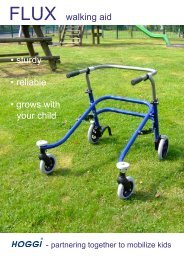 FLUX walking aid • sturdy • reliable • grows with your child - Rev