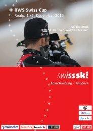 Ausschreibung - Swiss-Ski