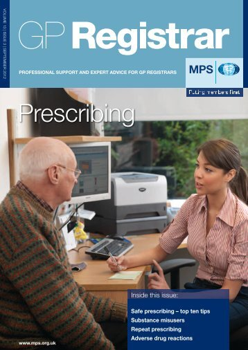 Prescribing - Medical Protection Society