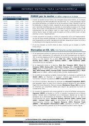Mercados en EE. UU.: los futuros suman ... - Sala de Inversión