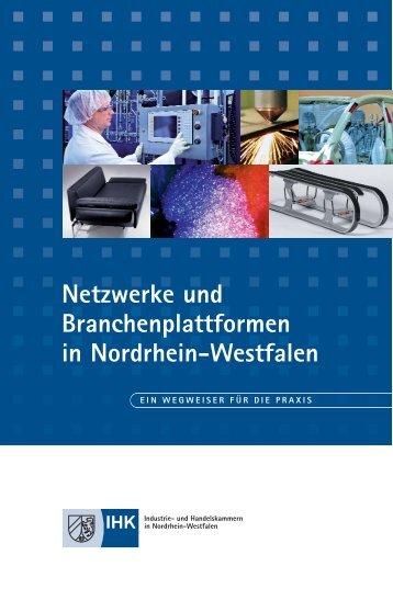 Netzwerke und Branchenplattformen in NRW - IHK Essen - IHK24