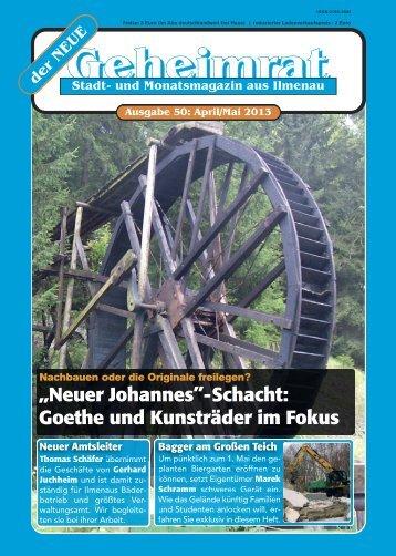 April- Mai 2013 - Heimatgeschichtlicher Verein Ilmenau eV