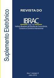 Suplemento Revista do Ibrac 05 2010