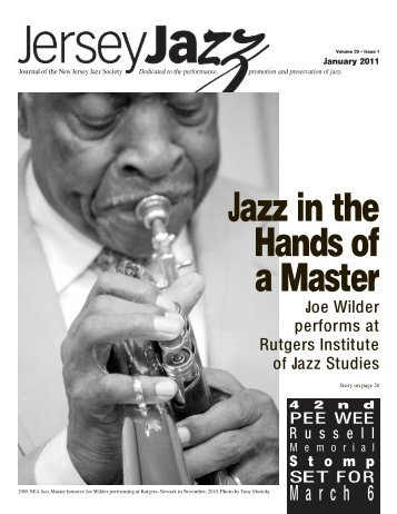 Jazz in the Hands of a Master - New Jersey Jazz Society