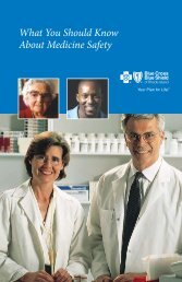 What You Should Know About Medicine Safety - Blue Cross & Blue ...