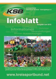 Ausgabe Juni 2012 - Kreissportbund Sächsische Schweiz