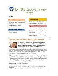 Číslo 1/2010 - Společnost pro podporu lidí s mentálním postižením v ...