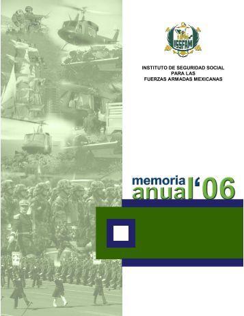 Memoria Anual 2006 - Issfam