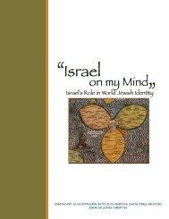 Israel on My Mind - American Jewish Committee
