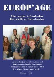 zum Inhalt der Ausgabe 2012_1:Europäisches Jahr für aktives ...