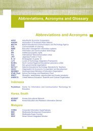 W Abbreviations and Acronyms Abbreviations, Acronyms and Glossary