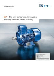 SSP – The only sensorless drive system ensuring absolute speed ...