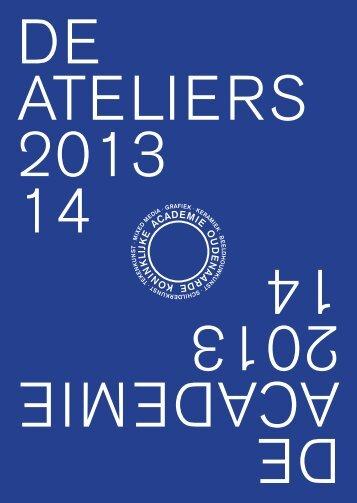 Gids Academie voor Beeldende Kunst 2013-2014 - Stad Oudenaarde