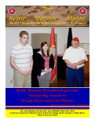May 2011 Newsletter - Kettle Moraine Detachment