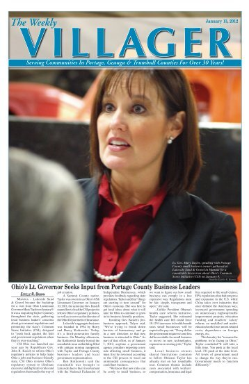 The Weekly Villager-January 29, 2010 - Villager Printing