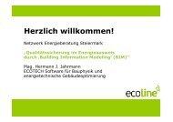 Herzlich willkommen! - Netzwerk Energieberatung Steiermark