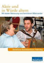 Aktiv und in Würde altern - Senecura