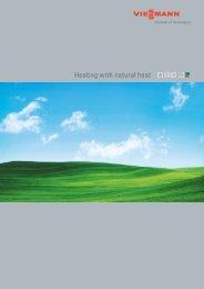 Heating with Natural Heat8.1 MB - Viessmann